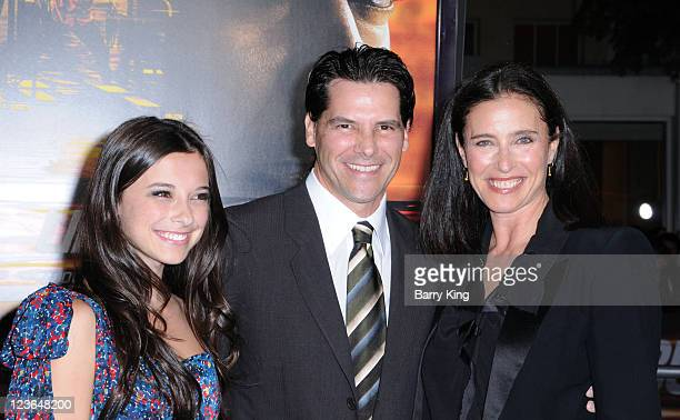 Lucy Julia RogersCiaffa Chris Ciaffa and actress Mimi Rogers arrive at the Los Angeles Premiere Unstoppable at Regency Village Theatre on October 26...