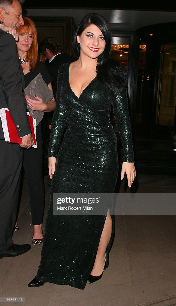 Lucy Kay attend the Pride of Britain awards at The Grosvenor House Hotel on October 6, 2014 in London, England.