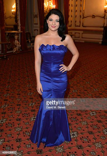 Lucy Kay attends the Bell Pottinger Charity Dinner hosted for Northwood African Education Foundation at Lancaster House on November 4 2014 in London...