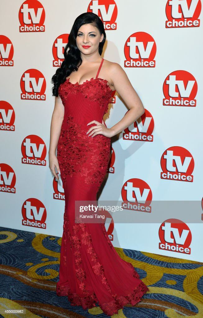 Lucy Kay attends the TV Choice Awards 2014 at London Hilton on September 8, 2014 in London, England.