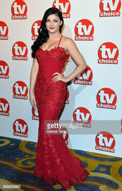 Lucy Kay attends the TV Choice Awards 2014 at London Hilton on September 8 2014 in London England