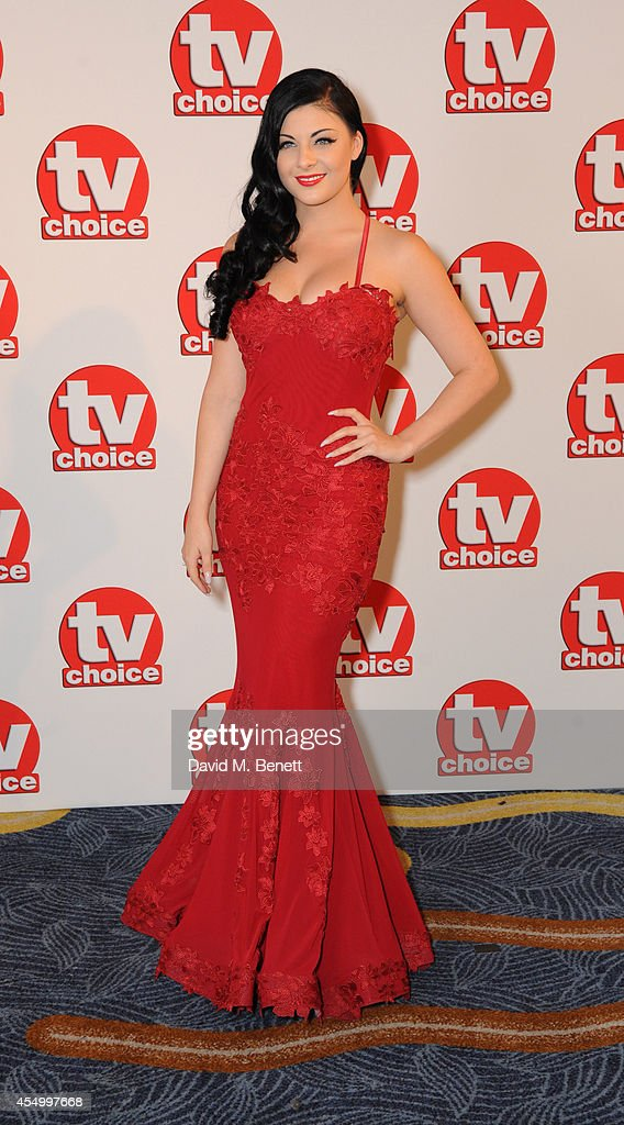 Lucy Kay attends the TV Choice Awards 2014 at the London Hilton on September 8, 2014 in London, England.