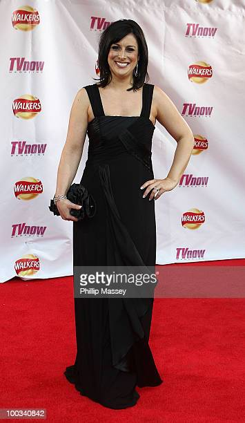 Lucy Kennedy attends the TV Now Awards on May 22 2010 in Dublin Ireland
