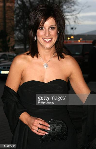 Lucy Kennedy presenter on Podge and Rodge during VIP Style Awards Gala Dinner 2006 at The Four Seasons Hotel in Dublin Ireland