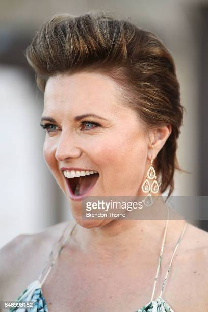 Lucy Lawless arrives ahead of the Australian LGBTI Awards 2017 at Sydney Opera House on March 2 2017 in Sydney Australia
