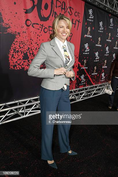 Lucy Lawless at the 30 Days of Night premiere at Grauman's Chinese Theatre on October 16 2007 in Hollywood California