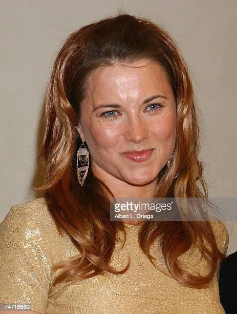 Lucy Lawless at the Universal Hilton Hotel in Universal City California