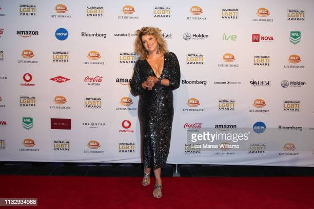Lucy Lawless attends the 2019 Australian LGBTI Awards at The Star on March 01 2019 in Sydney Australia