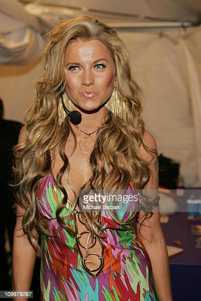 Lucy Lawless during 2005 Los Angeles Gay Pride Weekend Concert in Los Angeles California United States