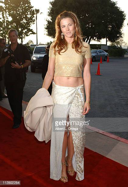 Lucy Lawless during 31st Annual Saturn Awards Arrivals at Universal Hilton Hotel in Universal City California United States