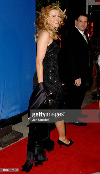 """Lucy Lawless during """"Dreamgirls"""" Los Angeles Premiere - Arrivals at Wilshire Theatre in Beverly Hills, California, United States."""