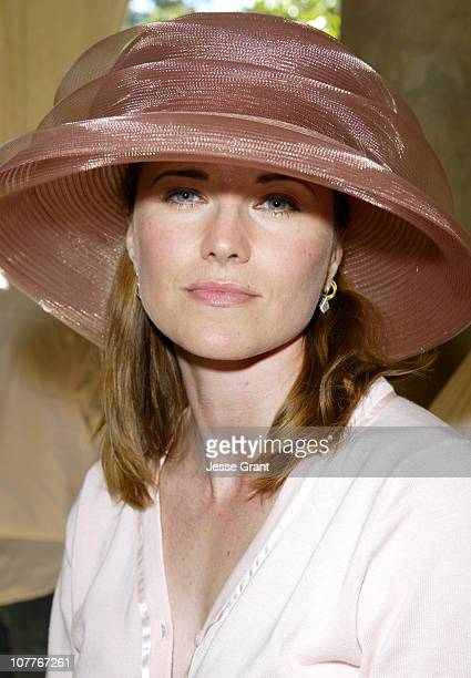 Lucy Lawless during GLAAD Summer Party Absolut Hancock Park at Private Residence in Los Angeles California United States