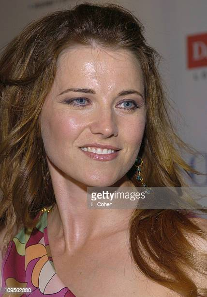 Lucy Lawless during Hairspray Opening Night Los Angeles Red Carpet at Pantages Theatre in Los Angeles California United States