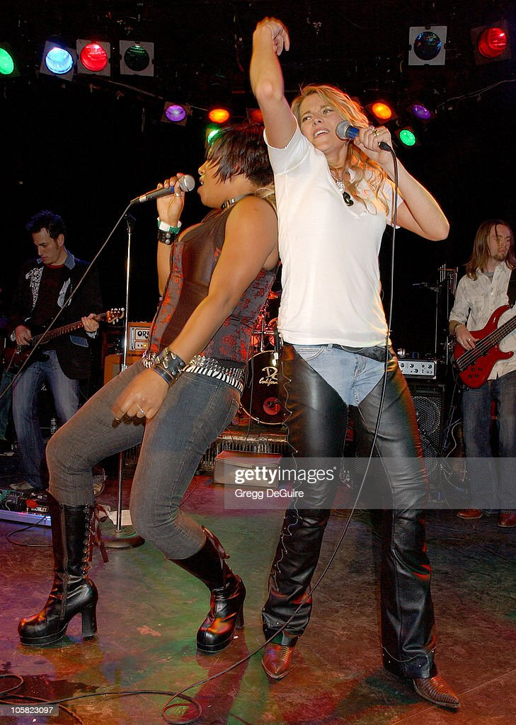 Lucy Lawless in Concert at The Roxy Theater - January 13, 2007 : Nachrichtenfoto