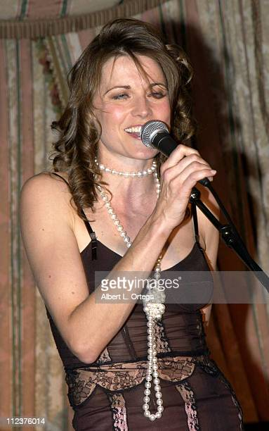 Lucy Lawless during PreOscar Party for New Zealand Films Party at The Four Seasons Hotel in Beverly Hills California United States