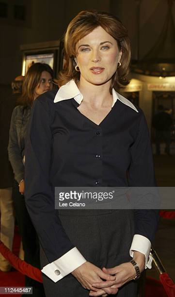 Lucy Lawless during World Premiere of 'Eurotrip' Red Carpet at Manns Grauman Chinese Theatre in Hollywood California United States