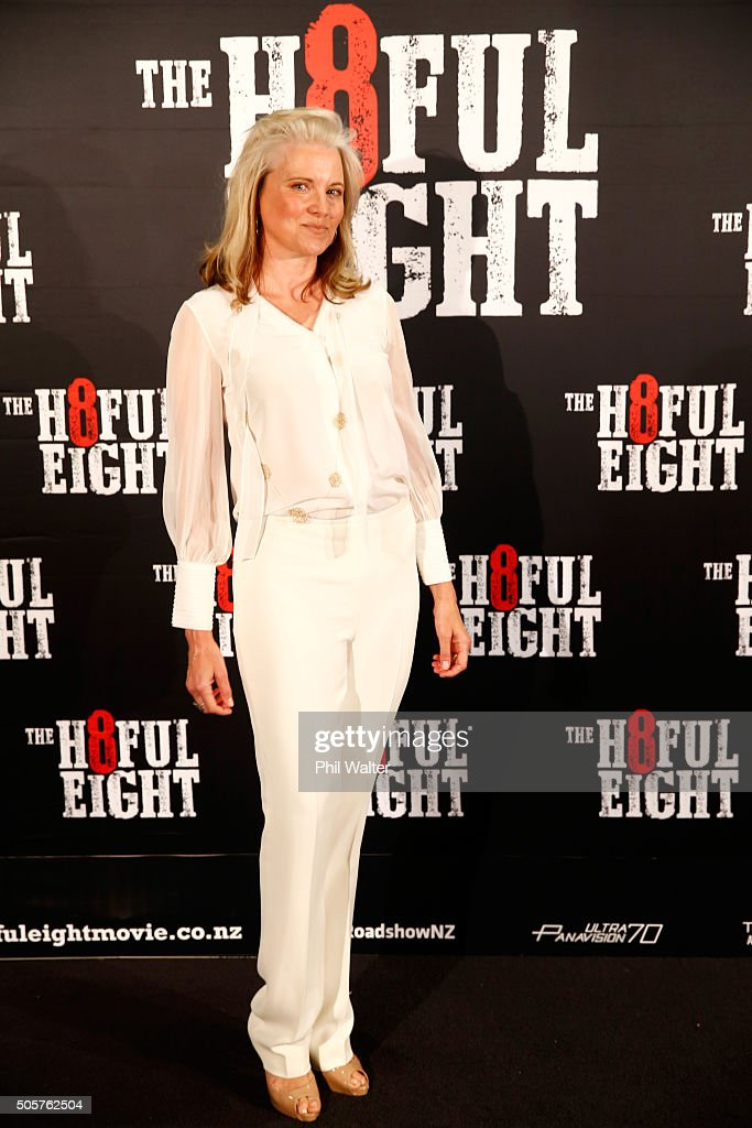 The Hateful Eight Auckland Premiere - Arrivals : Nachrichtenfoto