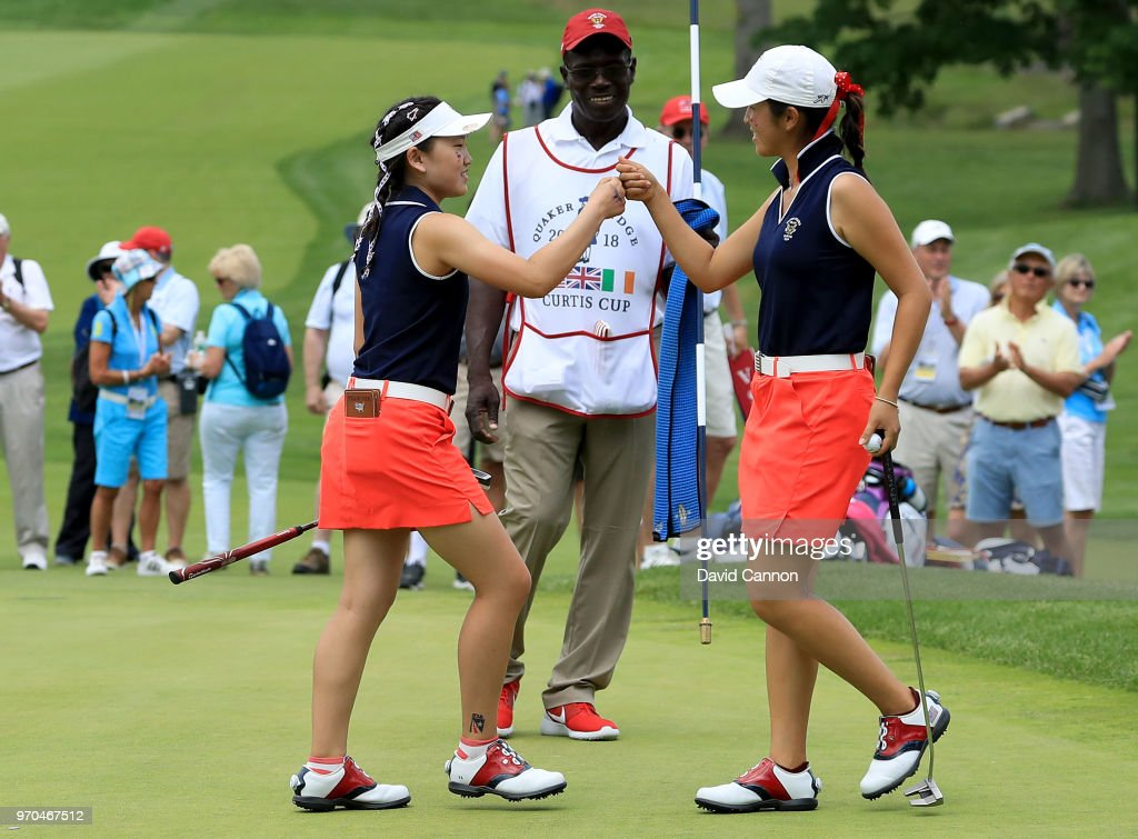 2018 Curtis Cup - Day Two : News Photo