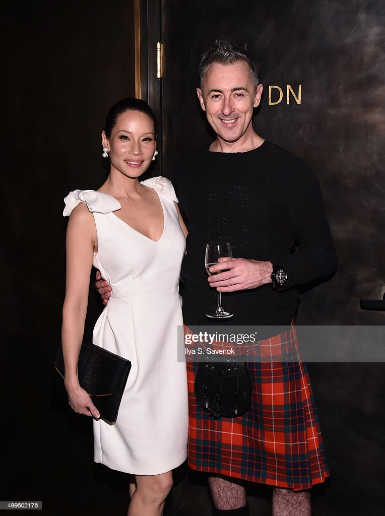 Lucy Liu and Alan Cumming attend Bruno Magli Presents A Taste Of Italy Co-Hosted By Food & Wine & Scott Conant on December 1, 2015 in New York City.