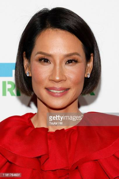 Lucy Liu attends the 2019 Hudson River Park Gala at Cipriani South Street on October 17, 2019 in New York City.