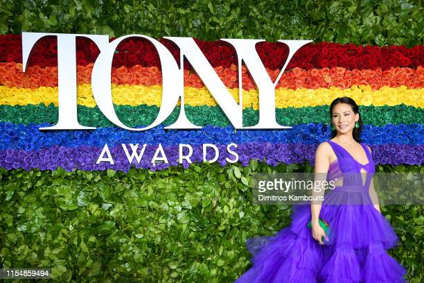 Lucy Liu attends the 73rd Annual Tony Awards at Radio City Music Hall on June 09 2019 in New York City