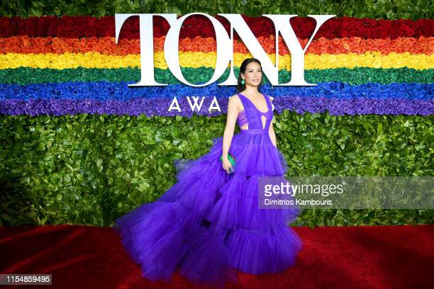 Lucy Liu attends the 73rd Annual Tony Awards at Radio City Music Hall on June 09, 2019 in New York City.