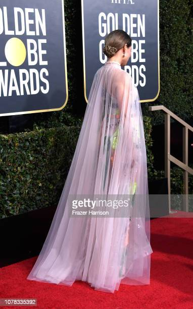 Lucy Liu attends the 76th Annual Golden Globe Awards at The Beverly Hilton Hotel on January 6 2019 in Beverly Hills California