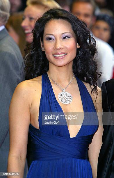 Lucy Liu Attends The 'Charlie'S Angels 2 Full Throttle' Premiere In London'S Leicester Square