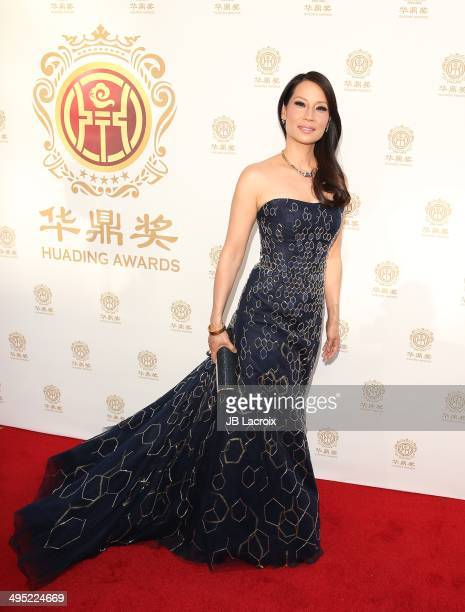 Lucy Liu attends the Huading Film Awards at Ricardo Montalban Theatre on June 1 2014 in Los Angeles California