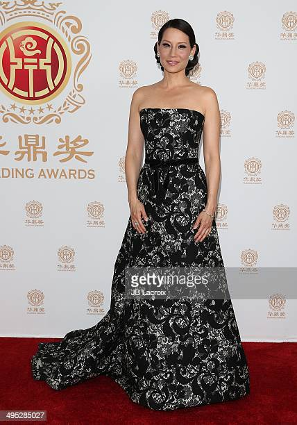Lucy Liu attends the Huading Film Awards on June 1 2014 at Ricardo Montalban Theatre in Los Angeles California