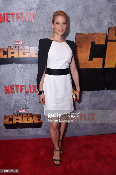 Lucy Liu attends the Netflix Original Series Marvel's Luke Cage Season 2 New York City Premiere on June 21 2018 in New York City