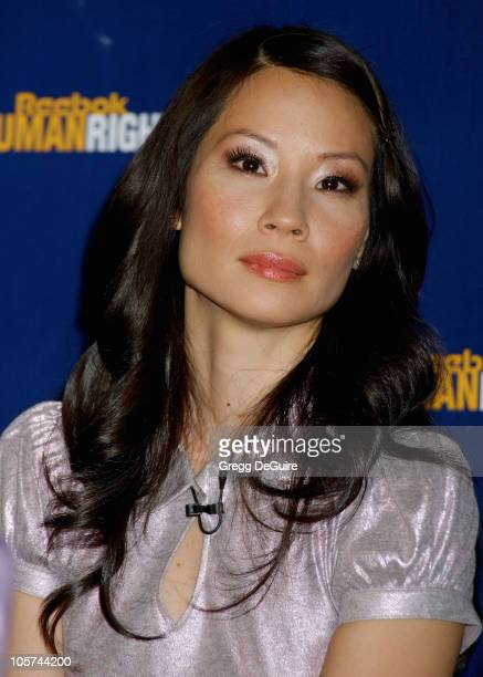 Lucy Liu during 2005 Reebok Human Rights Awards Press Conference and Show at UCLA Royce Hall in Westwood California United States