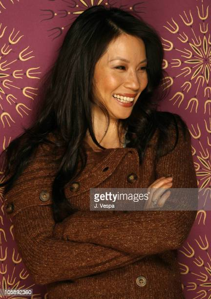 Lucy Liu during 2006 Sundance Film Festival 'Lucky Number Slevin' Portraits at HP Portrait Studio in Park City Utah United States