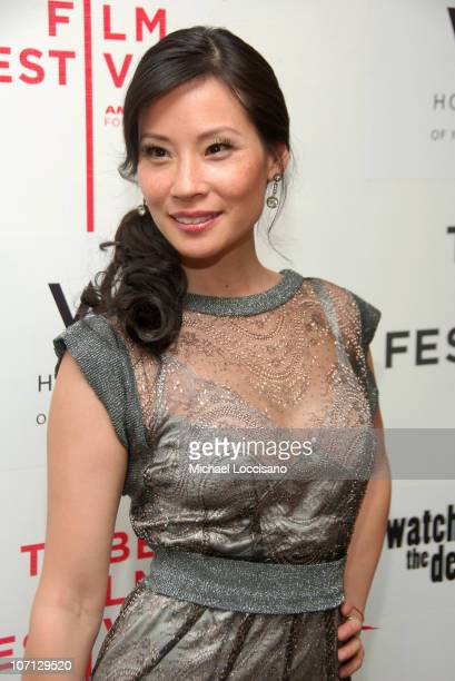 Lucy Liu during 6th Annual Tribeca Film Festival 'Watching The Detectives' After Party at the Tribeca Cadillac Lounge at The W Hotel in New York City...