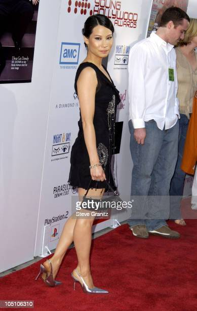 Lucy Liu during AMC Movieline's Hollywood Life Magazine's Young Hollywood Awards 2003 at El Rey Theatre in Los Angeles California United States