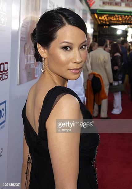 Lucy Liu during AMC & Movieline's Hollywood Life Magazine's Young Hollywood Awards - Red Carpet at El Rey Theatre in Los Angeles, California, United...