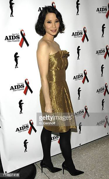 Lucy Liu during Gala Opening of the New York AIDS Film Festival Featuring the Film '3 Needles' at United Nations Complex in New York City New York...