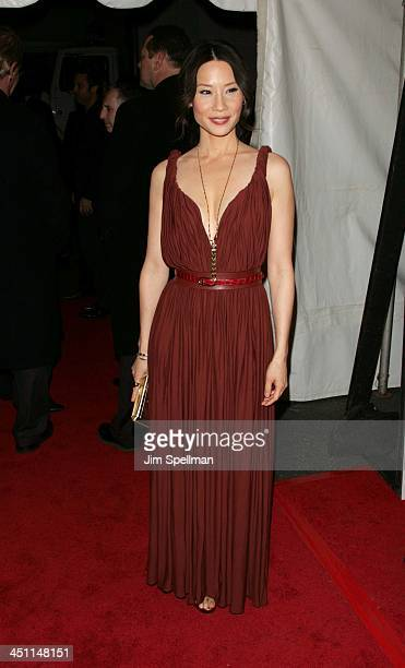 Lucy Liu during Lucky Number Slevin New York City Premiere - Outside Arrivals at Ziegfeld Theater in New York City, New York, United States.