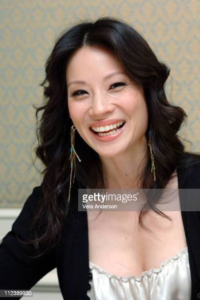 Lucy Liu during 'Lucky Number Slevin' Press Conference with Lucy Liu at Four Seasons in Beverly Hills California United States