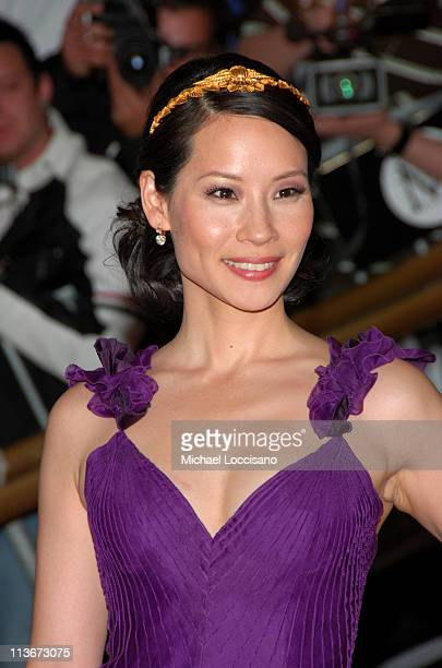 Lucy Liu during 'Poiret King of Fashion' Costume Institute Gala at The Metropolitan Museum of Art Arrivals at Metropolitan Museum of Art in New York...