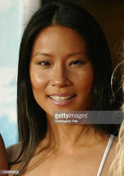 Lucy Liu during Premiere of 'Charlie's Angels Full Throttle' at Grauman's Chinese Theatre in Hollywood California United States