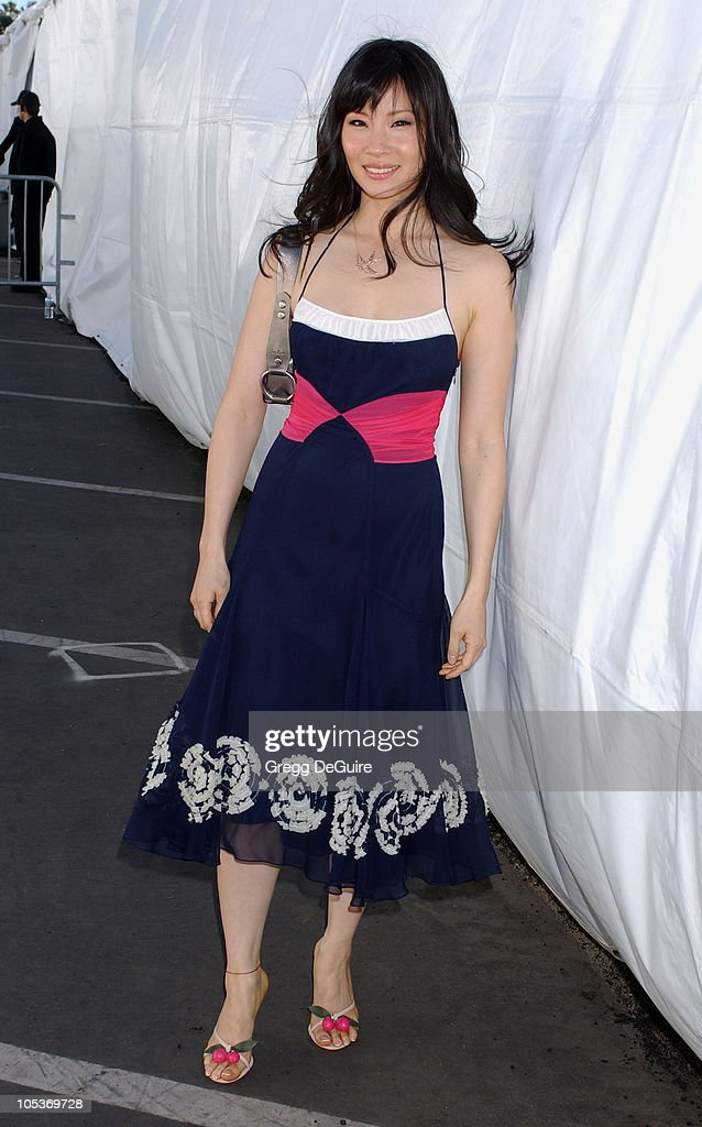 Lucy Liu during The 19th Annual IFP Independent Spirit Awards - Audience and Backstage at Santa Monica Pier in Santa Monica, California, United States.