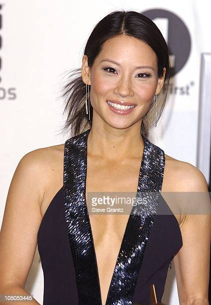 Lucy Liu during VH1 Big in 2002 Awards Press Room in Los Angeles California United States