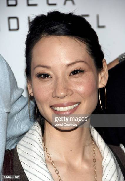 """Lucy Liu, executive producer during 5th Annual Tribeca Film Festival - """"Freedom's Fury"""" Press Conference at Tribeca Grand in New York City, New York,..."""