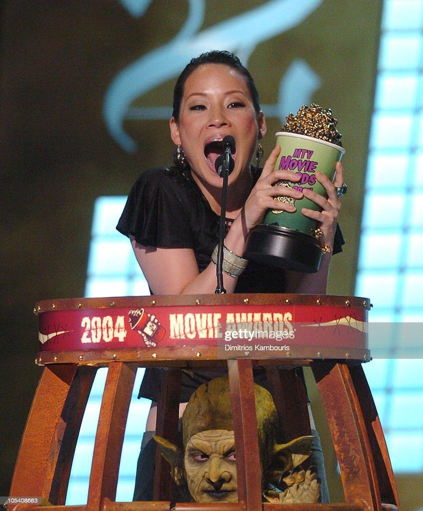 Lucy Liu, winner of Best Villain in 'Kill Bill Vol. 1'
