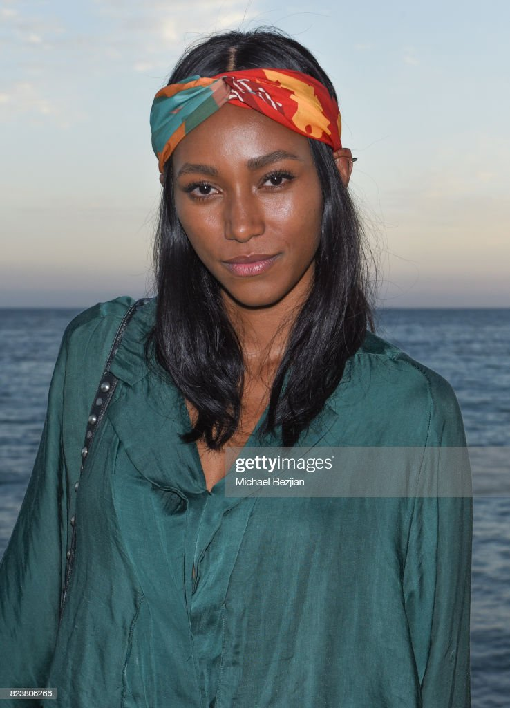 Lucy Malik attends 'The Awakening Sea' Launch Party By Rowena Patterson on July 27, 2017 in Malibu, California.