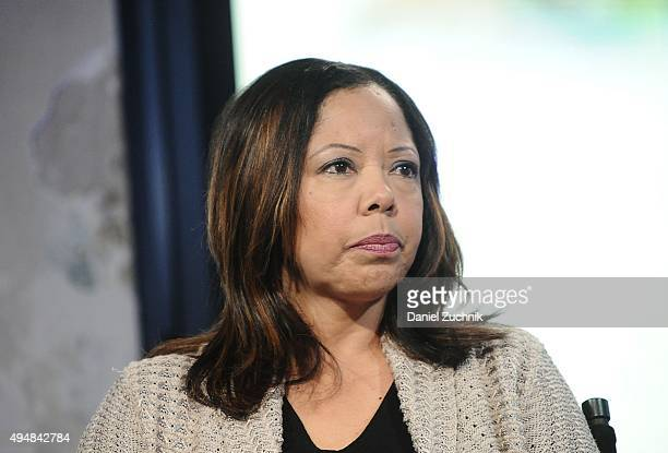 Lucy McBath attends AOL Build to discuss her film 'The Armor of Light' at AOL Studios on October 29 2015 in New York City