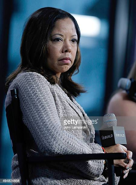 Lucy McBath discusses The Armor Of Light during AOL BUILD speaker series at AOL Studios In New York on October 29 2015 in New York City