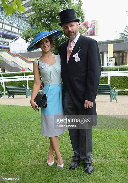 Lucy McCormack and Noel Stewart attend day three of Royal Ascot at Ascot Racecourse on June 19 2014 in Ascot England