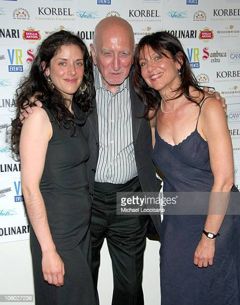Lucy McLellan Dominic Chianese and Emily Nash during The Great New Wonderful Red Carpet Premiere at Angelika Theatre in New York City New York United...